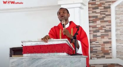 THE PASSION OF THE LORD (FULL SERMON) – Fr Oluoma Chinenye John