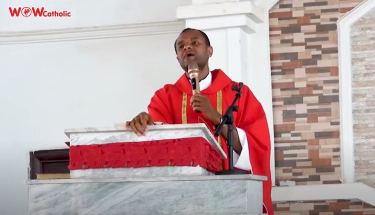 THE PASSION OF THE LORD (FULL SERMON) - Fr Oluoma Chinenye John